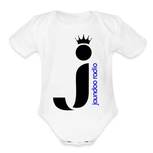 JAUNDOO RADIO - Organic Short Sleeve Baby Bodysuit