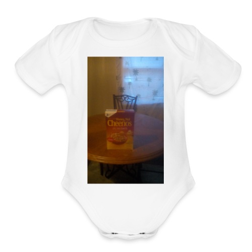 Happy people - Organic Short Sleeve Baby Bodysuit