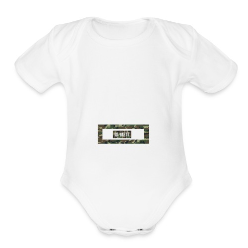 is/meti3 - Organic Short Sleeve Baby Bodysuit