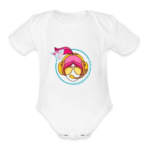 Pre Flight - Organic Short Sleeve Baby Bodysuit