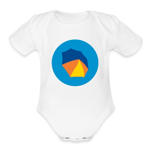 umbelas icon 2 - Organic Short Sleeve Baby Bodysuit