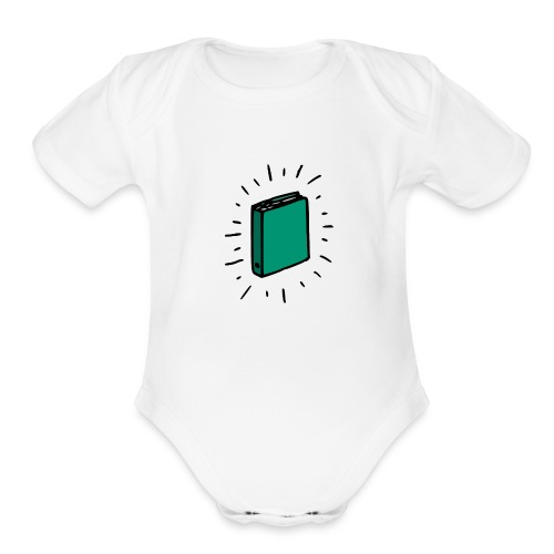 Book - Organic Short Sleeve Baby Bodysuit