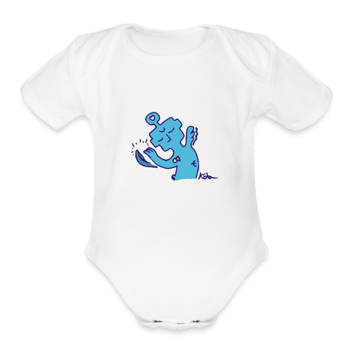 Solace Entity - Organic Short Sleeve Baby Bodysuit