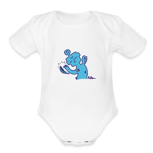 Solace Entity - Organic Short Sleeve Baby Bodysuit