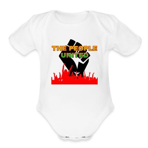 The People United - Organic Short Sleeve Baby Bodysuit