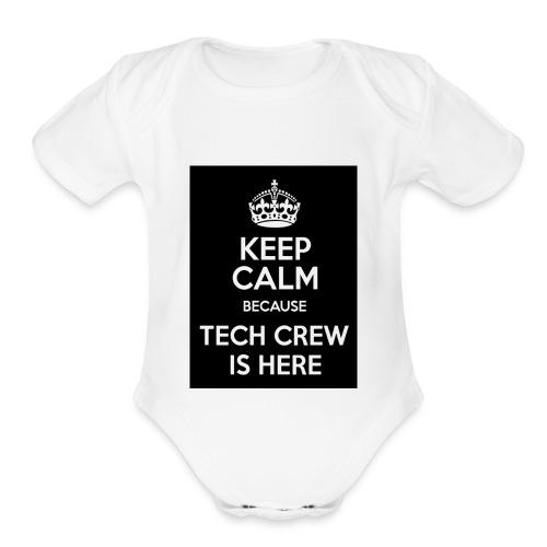 Tech Crew - Organic Short Sleeve Baby Bodysuit