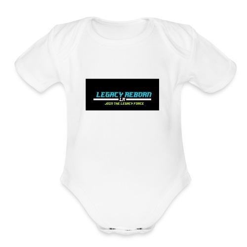 legacyreborn merchandise - Organic Short Sleeve Baby Bodysuit