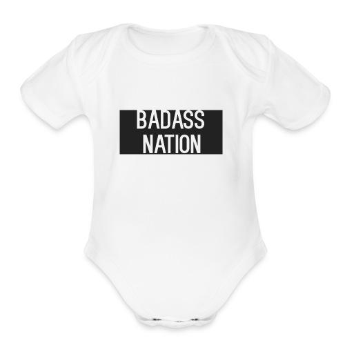 BadassNation - Organic Short Sleeve Baby Bodysuit