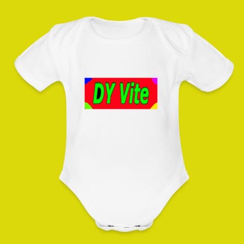 awesome shirt - Organic Short Sleeve Baby Bodysuit