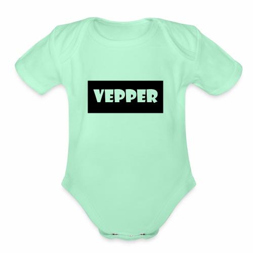 Vepper - Organic Short Sleeve Baby Bodysuit