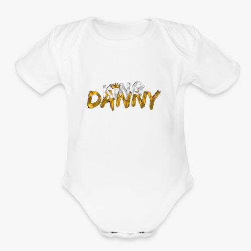 King Danny Merchandise - Organic Short Sleeve Baby Bodysuit