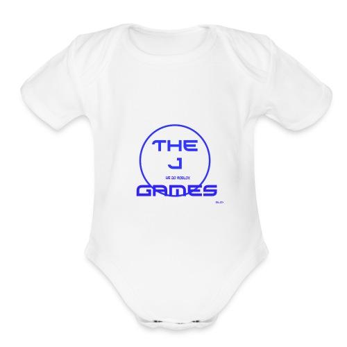 The J Games - Merch - Organic Short Sleeve Baby Bodysuit