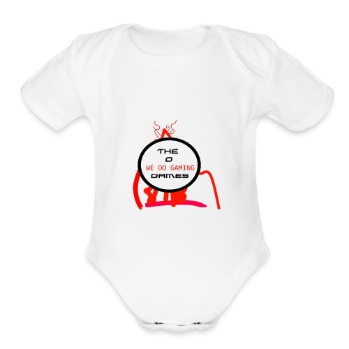 The New Merch - Organic Short Sleeve Baby Bodysuit