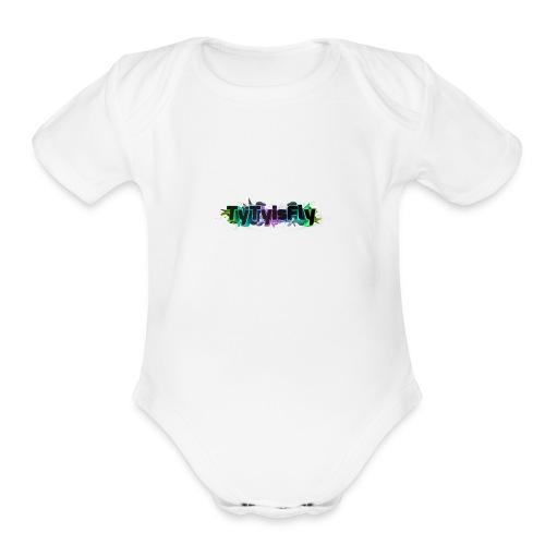 tytyisfly - Organic Short Sleeve Baby Bodysuit