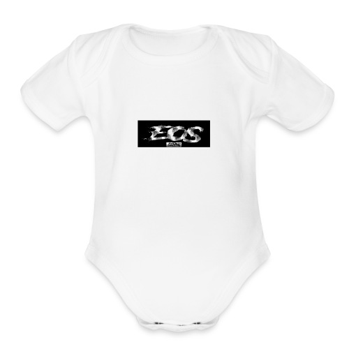 EOS clothing // NEW Brush logo - Organic Short Sleeve Baby Bodysuit