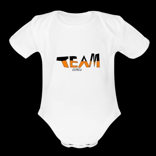 Team Guinea - Organic Short Sleeve Baby Bodysuit