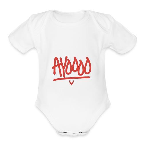 Ayooo Kids Clothing - Organic Short Sleeve Baby Bodysuit