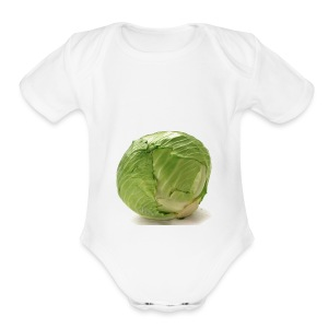 CabbageTexts Streetwear - Short Sleeve Baby Bodysuit