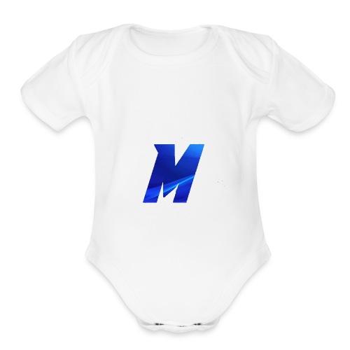 Minergoldplayz original - Organic Short Sleeve Baby Bodysuit