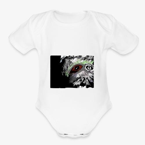 j777 - Organic Short Sleeve Baby Bodysuit