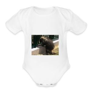 3B3A7E87 4560 4186 9A09 1D7372B9C812 - Short Sleeve Baby Bodysuit