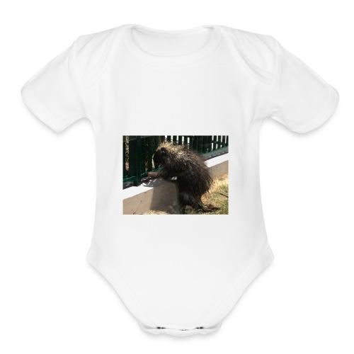3B3A7E87 4560 4186 9A09 1D7372B9C812 - Organic Short Sleeve Baby Bodysuit