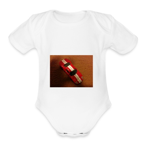 FORD GT - Organic Short Sleeve Baby Bodysuit