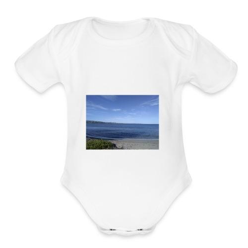 Dreambigworkhard - Organic Short Sleeve Baby Bodysuit