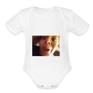 15103550139911369116513 - Short Sleeve Baby Bodysuit