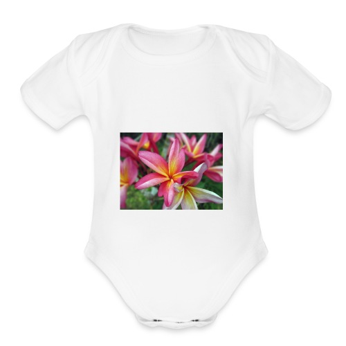 Pua - Organic Short Sleeve Baby Bodysuit