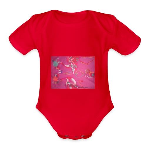Drinks - Organic Short Sleeve Baby Bodysuit