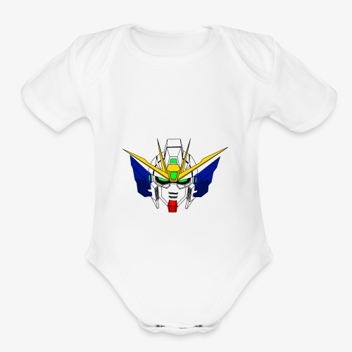 Target Destroyed! - Organic Short Sleeve Baby Bodysuit