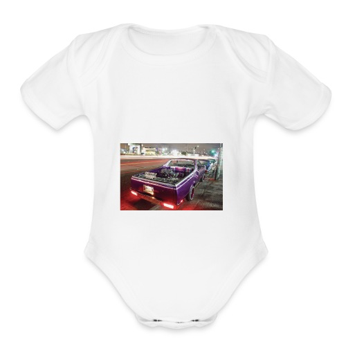 Lowrider Gucci supreme - Organic Short Sleeve Baby Bodysuit