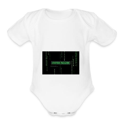 Fund Raise (for ideas) - Organic Short Sleeve Baby Bodysuit