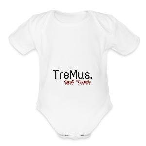 TreMus Self Trust - Short Sleeve Baby Bodysuit