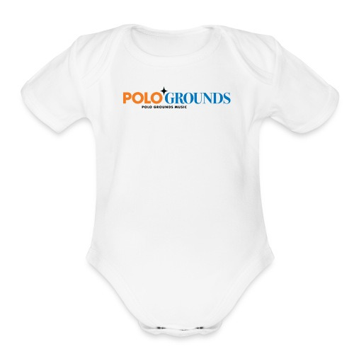 Polo Grounds Music - Organic Short Sleeve Baby Bodysuit