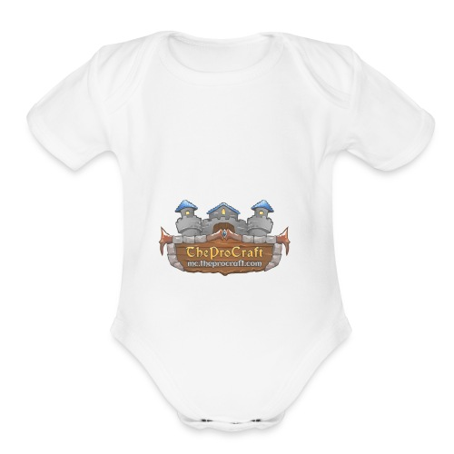 TheProCraft - Organic Short Sleeve Baby Bodysuit
