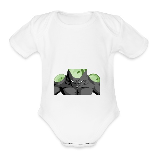 Freeza - Organic Short Sleeve Baby Bodysuit