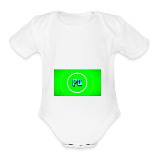 PD Green - Organic Short Sleeve Baby Bodysuit