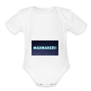 Maxmaker11 Shirt - Short Sleeve Baby Bodysuit