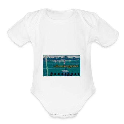 Jamesypoo - Organic Short Sleeve Baby Bodysuit