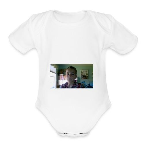 WIN 20171020 11 16 22 Pro - Organic Short Sleeve Baby Bodysuit