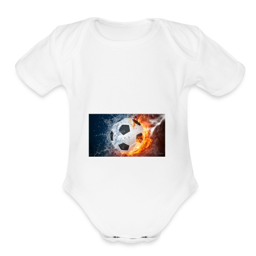 UNNROYAL SAVAGE - Organic Short Sleeve Baby Bodysuit