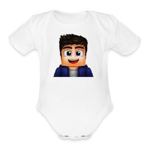 Smorez Merch - Short Sleeve Baby Bodysuit