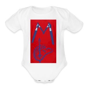 Jeury - Short Sleeve Baby Bodysuit
