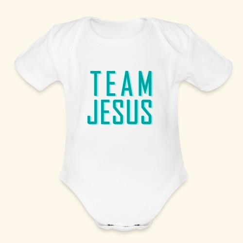 Team Jesus - Organic Short Sleeve Baby Bodysuit