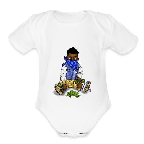 ProblemChild - Organic Short Sleeve Baby Bodysuit