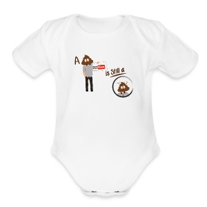 Don't be a Shithead - Short Sleeve Baby Bodysuit