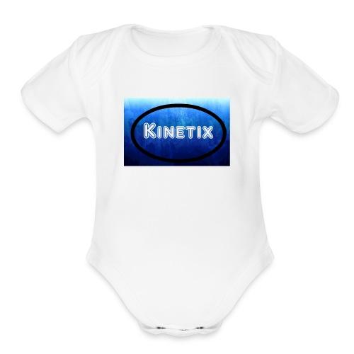 Kinetix - Organic Short Sleeve Baby Bodysuit