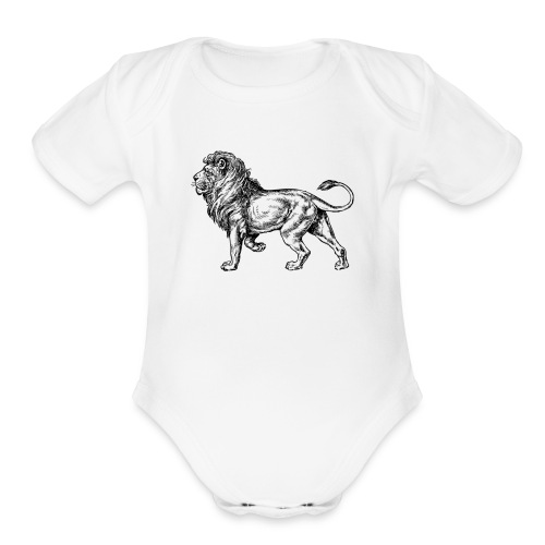 Help me help you - Organic Short Sleeve Baby Bodysuit